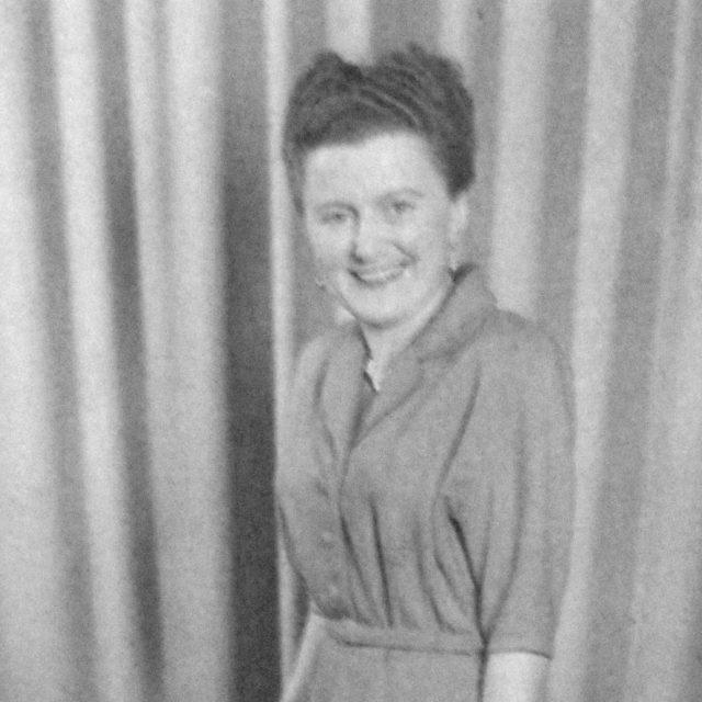 Anna Hadwiger v mládí
