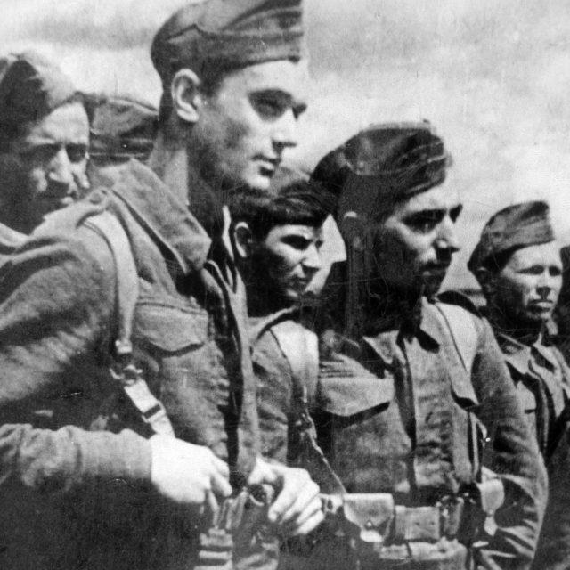 Čs. vojáci v Buzuluku