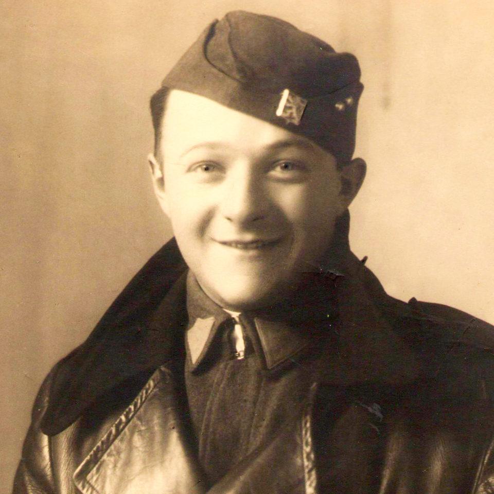 František Schnurmacher jako důstojník Československé armády před Mnichovem 1938