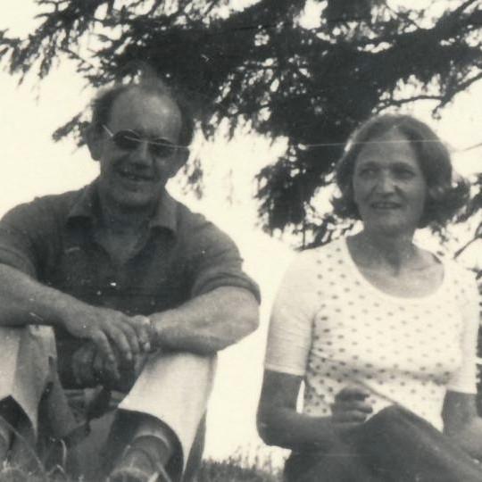 Jiřina Čechová s manželem