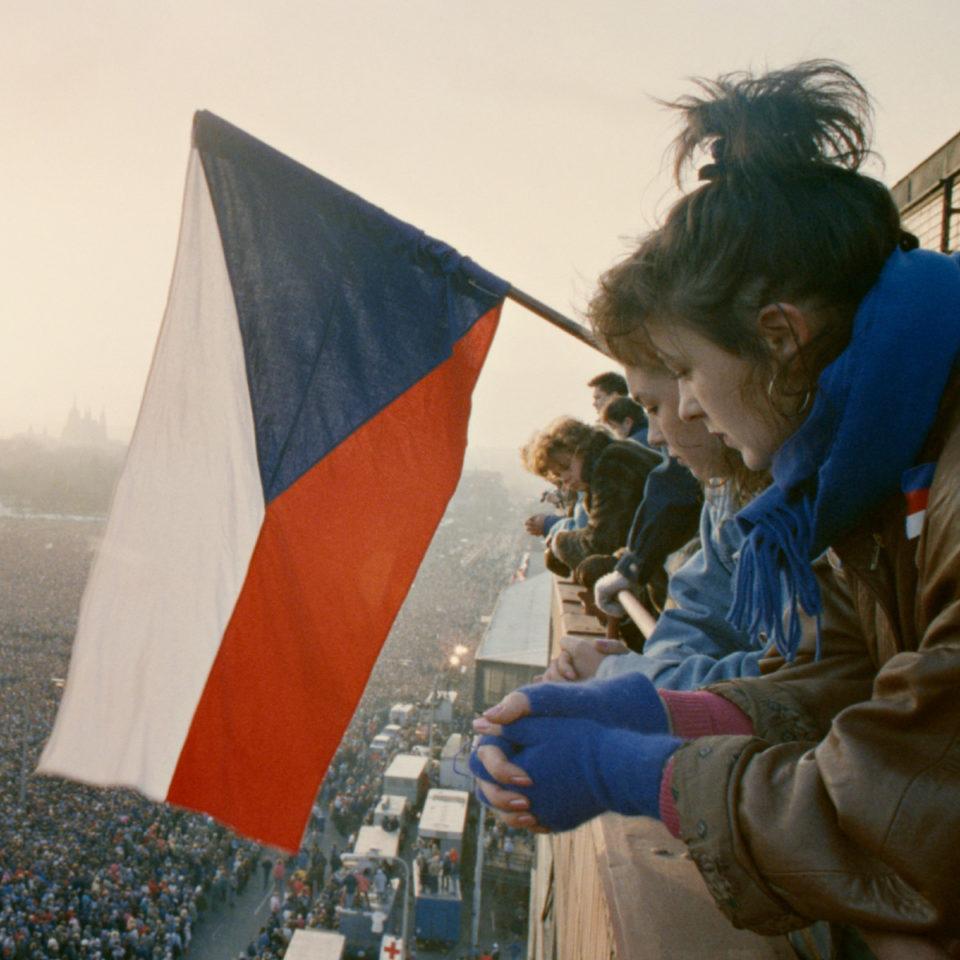 Letenská pláň, foto ČTK Josek Petr