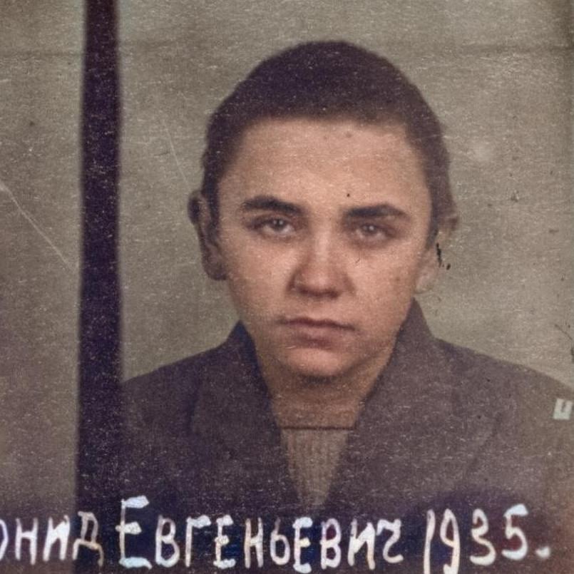 Levko Dohovič v době odsouzení. Zdroj HDA SBU Archiv bezpečnostní služby Ukrajiny_(1)