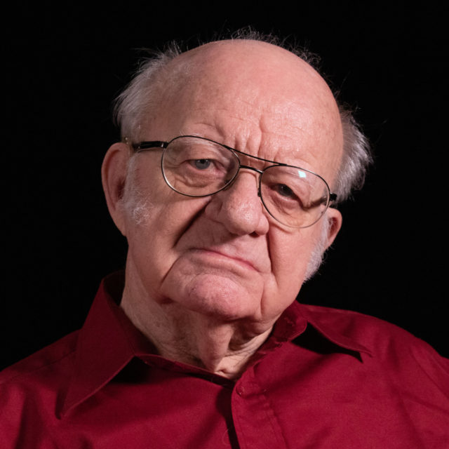 Václav Štěpán ve studiu