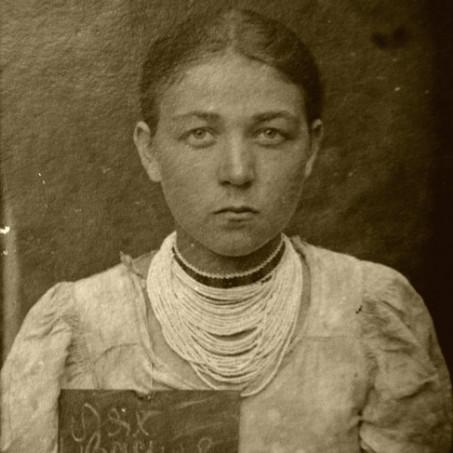 Vasilina Mesárová při zatčení