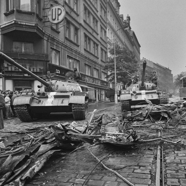 21. srpen 1968, foto Jiří Všetečka