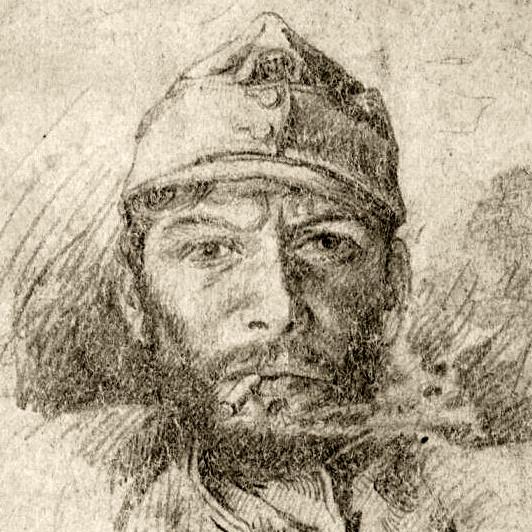 Autoportrét autora deníku