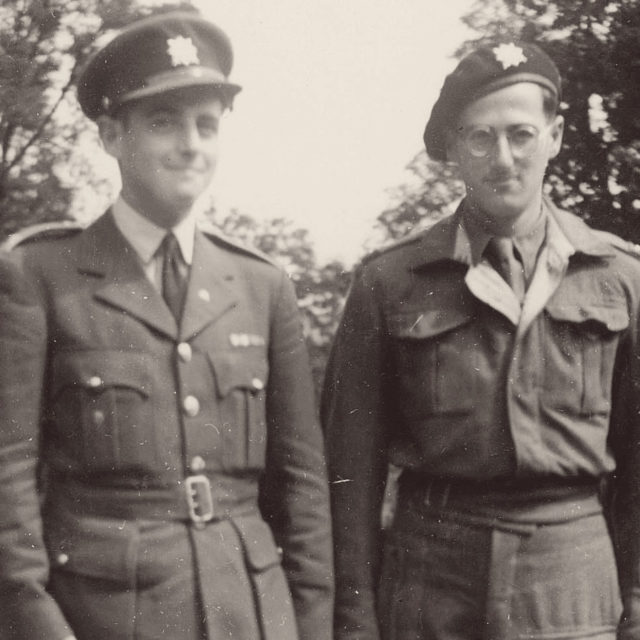 Otto (vpravo) a Jiří Grantovi