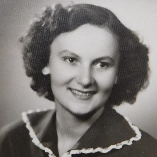 Studentka Květoslava Axmanová