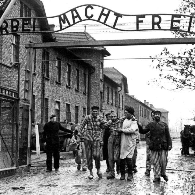 osvobození tábora Auschwitz